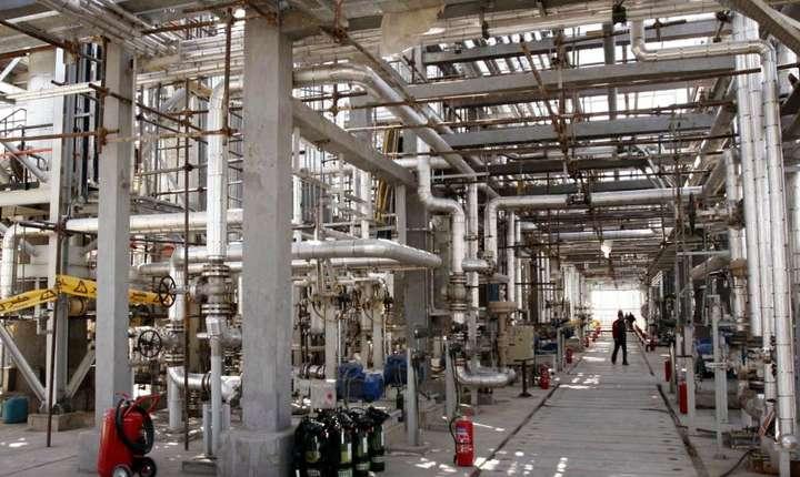 Centrala iraniana de la Arak, situata la 360 de kilometri sud-vest de Teheran, care producea înainte de 2015 apa grea.