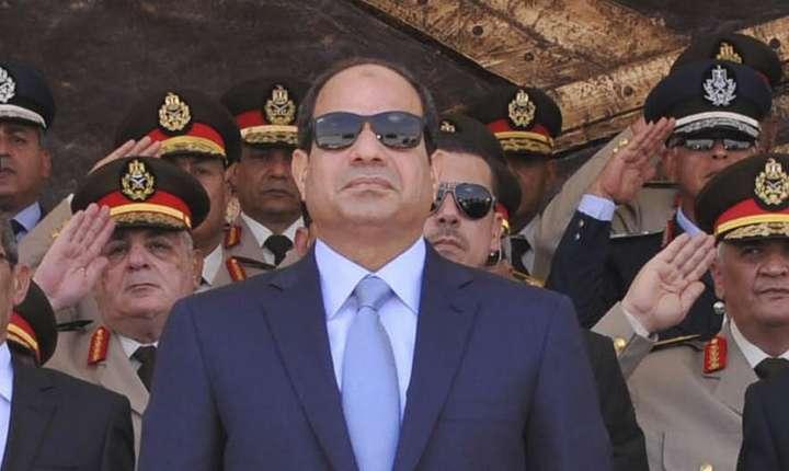 Preşedintele Abdel Fattah Al-Sissi