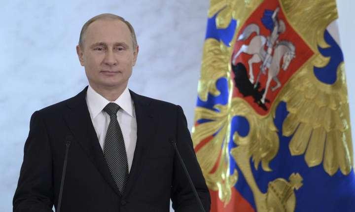 Vladimir Putin la o precedenta conferinta anuala