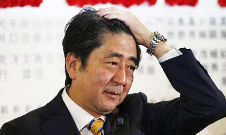Shinzo Abe, primul ministru japonez