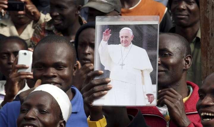 Imagine de la precedentul voiaj al Papei în Africa, Nairobi, Kenya, le 27 noiembrie 2015.