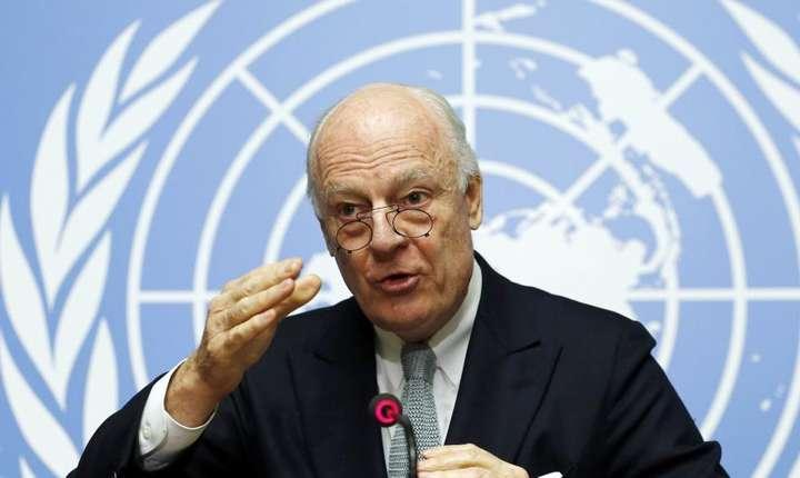 Staffan de Mistura, emisarul special ONU pentru Siria