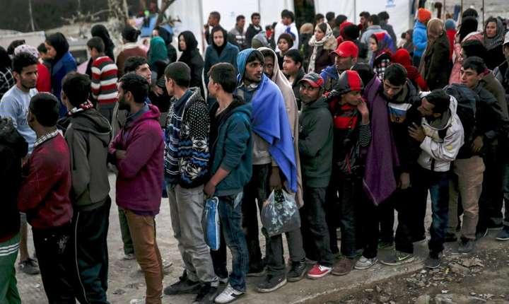 Migranti în Grecia