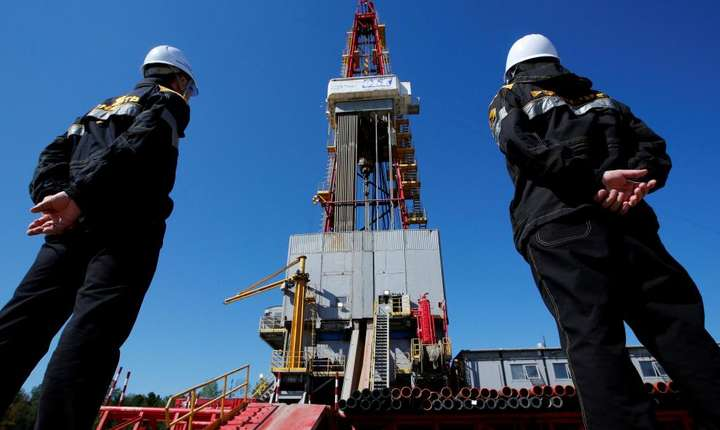 Exploatare petroliera la Nefteiugansk în Rusia
