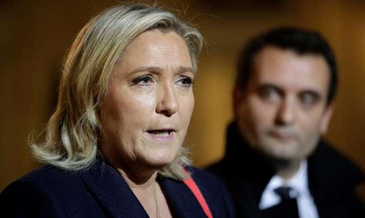 Marine Le Pen, lidera Frontului National în Franta