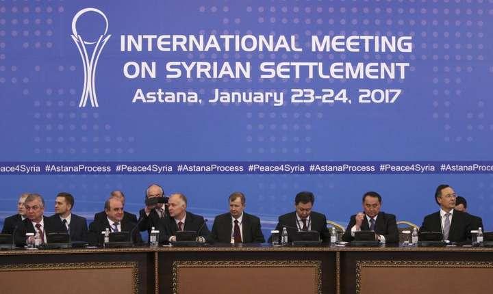 Deschiderea negocierilor inter-siriene de la Astana