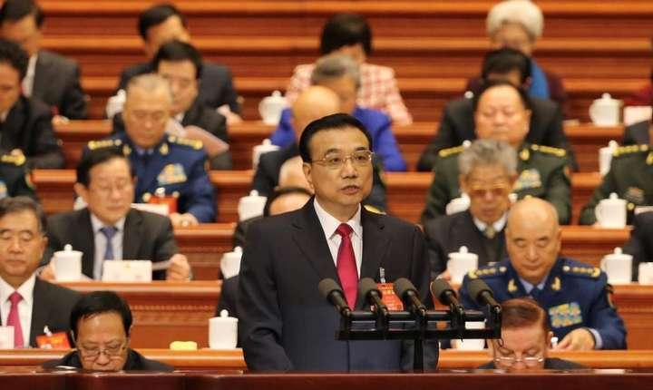 Primul ministru chinez Li Keqiang, 5 martie 2017