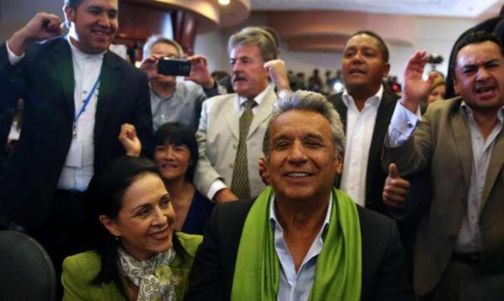 Lenin Moreno, noul presedinte din Ecuador