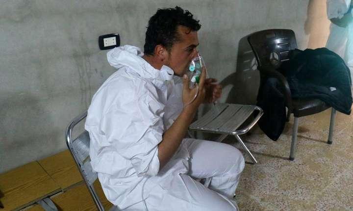 Khan Cheikhoun: orasul care a fost tinta unui dublu atac dintre care primul s-ar fi produs cu gaze toxice pe data de 4 aprilie. REUTERS/Ammar Abdullah