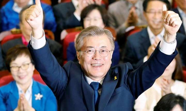Noul preşedinte sud-coreean, Moon Jae-In