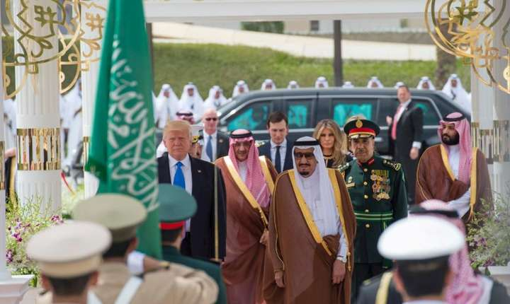 Donald Trump la Ryad, 20 mai 2017