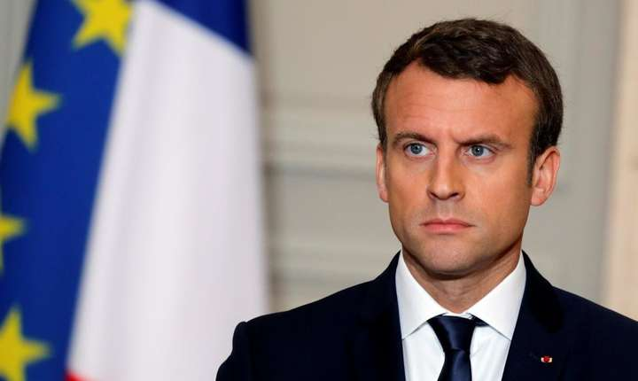 Presedintele francez Emmanuel Macron
