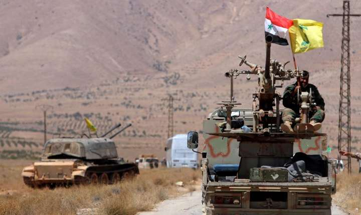 Trupe siriene în regiunea Deir Error