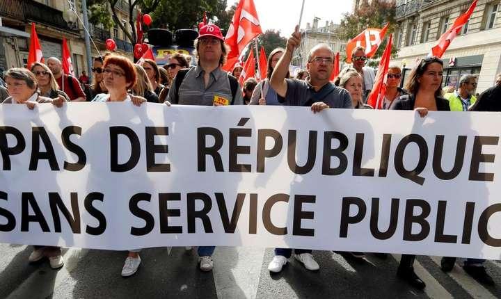 Manifestatie în Franta pe 10 octombrie 2017
