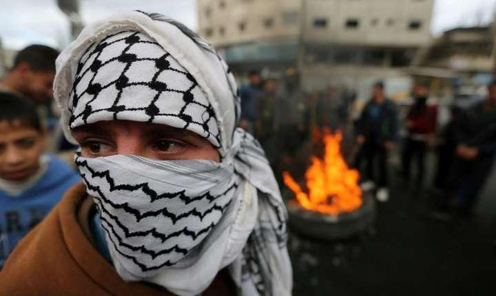 Manifestatii în Gaza dupa anuntul facut de Donald Trump