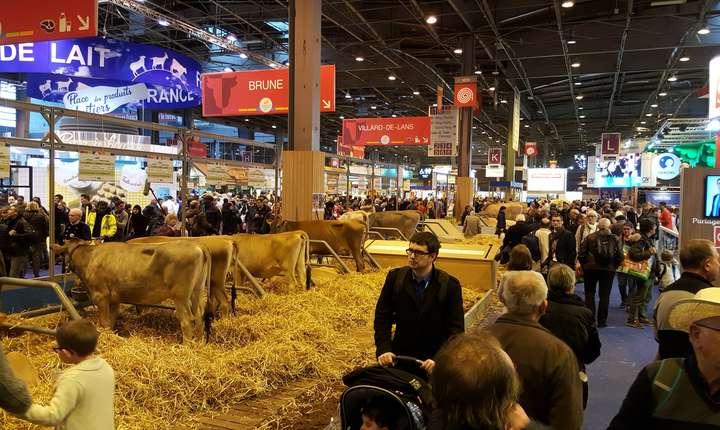 Între 620 și 650 de mii de vizitatori sunt așteptați până duminică la Salonul agriculturii din Paris