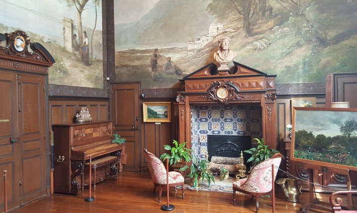 Casa-atelier a lui Charles François Daubigny de la Auvers-sur-Oise