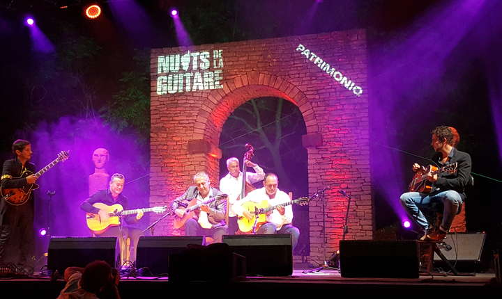 Rosenberg Trio, Romane si fii sài pe scena Festivalului de la Patrimonio 2017