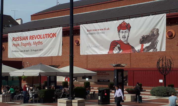 Revoluția Bolșevică - expoziție la British Library