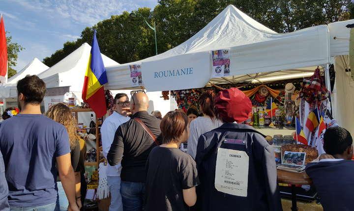 Standul României la Târgul international de gastronomie din Paris, 22-24 septembrie 2017