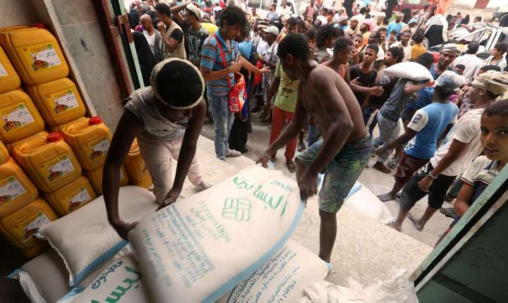 Criză umanitară în Yemen.