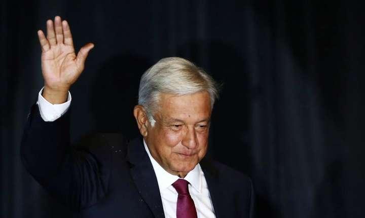 Noul preşedinte mexican Andrés Manuel Lopez Obrador