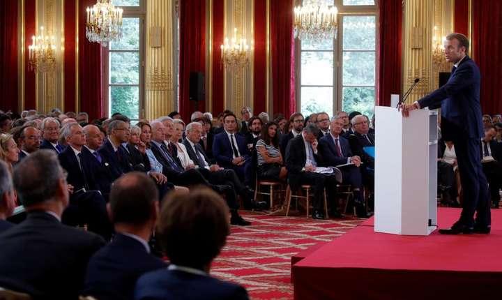 Discurs al preşedintelui Emmanuel Macron în faţa ambasadorilor reuniţi la Palatul Elysée, 27 august 2018