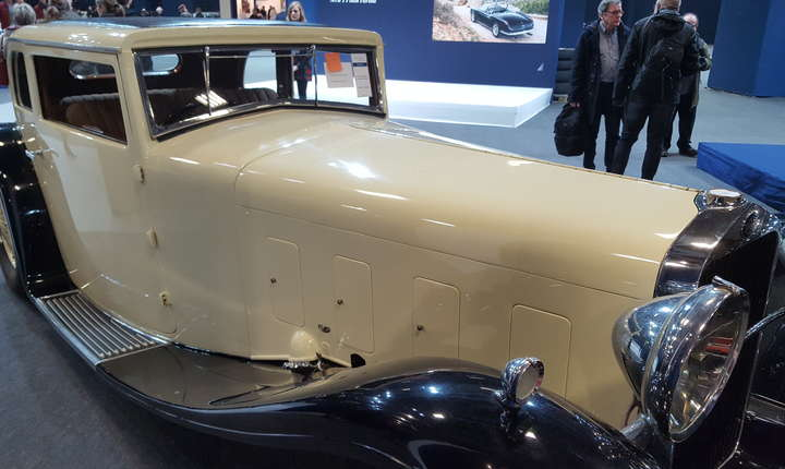 La salonul Retromobile 2018