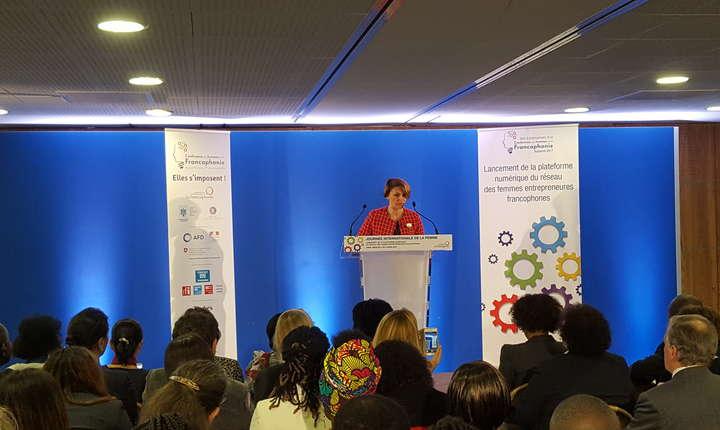 Monica Jiman, PDGul firmei Pentalog Software Factory, este presedinta Retelei francofone pentru antreprenoriatul feminin