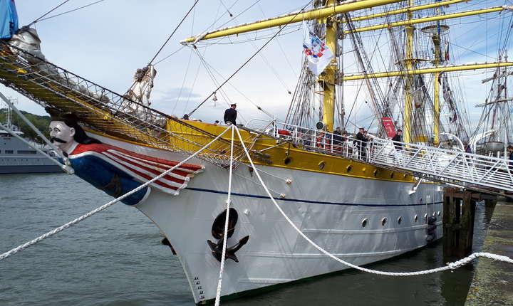 """Bricul Mircea ia parte pentru a 2-a oarà la """"Armada"""" de la Rouen"""
