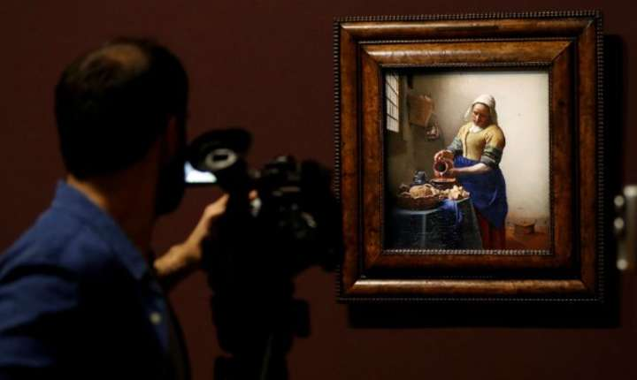La expozitia Vermeer de la Luvru...