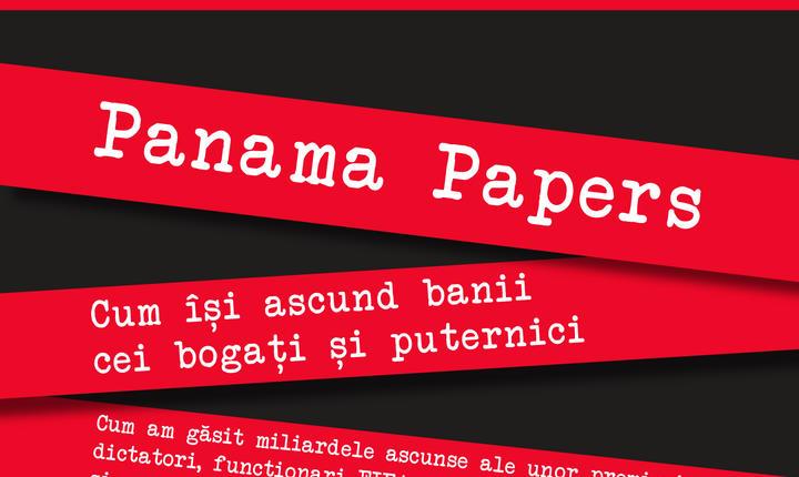 Coperta cartii Panama papers