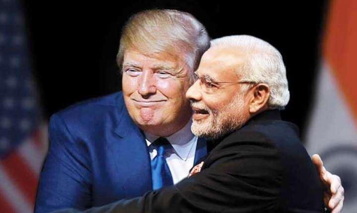 Donald Trump si Narendra Modi, 27 iunie 2017 Washington