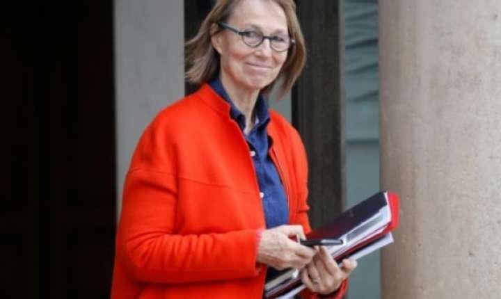Ministra culturii, Françoise Nyssen