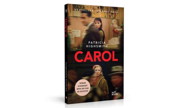 Coperta romanului CAROL, de Patricia Highsmith