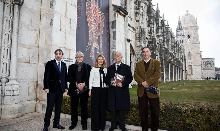 Președintele Portugaliei a vizitat expoziția româneasca «Aurul Antic. De la Marea Neagră la Oceanul Atlantic» prezentata la Lisabona.