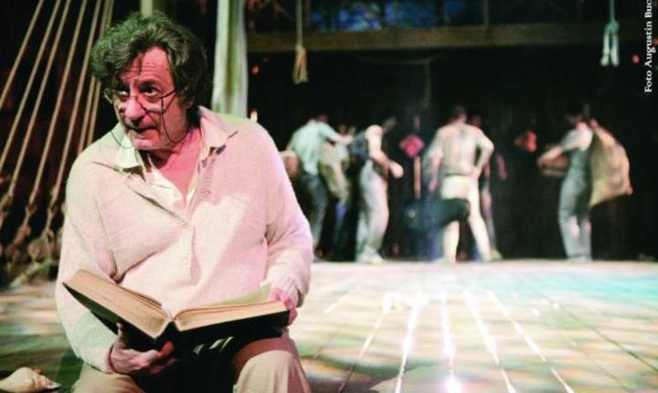 Ion Caramitru în rolul lui Prospero
