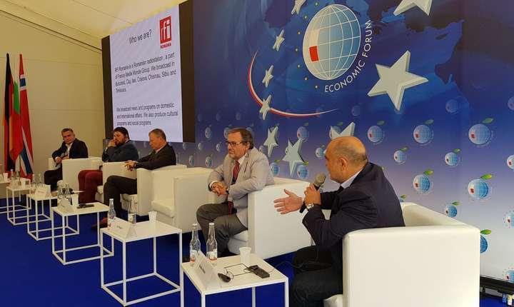 RFI Romania la Forumul Economic de la Krynica