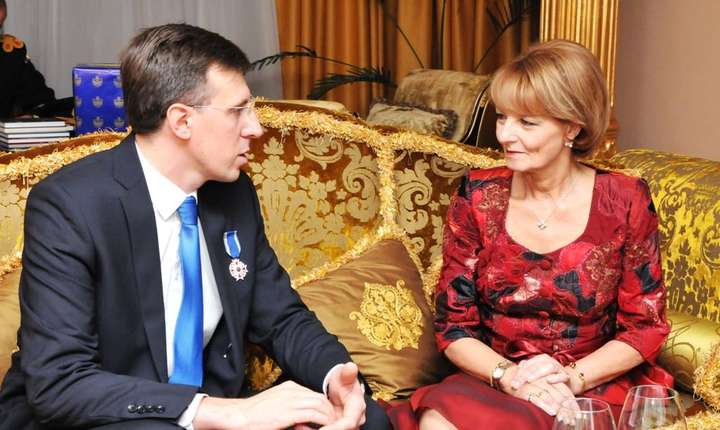 Dorin Chirtoacă si Principesa Margareta