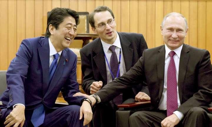 """Shinzo Abe şi Vladimir Putin au avut numeroase """"întîlniri cordiale"""" pînă acum"""