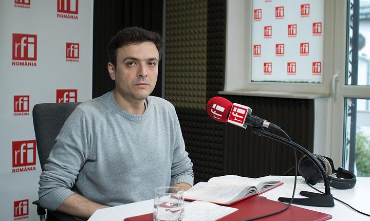 Coordonatorul de campanii de la Greenpeace România, Ionuţ Cepraga