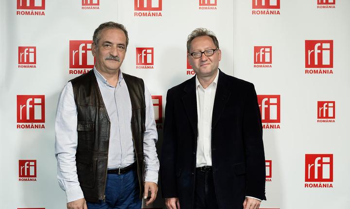 Adrian Izvoranu și Constantin Rudniţchi la radio RFI Romania