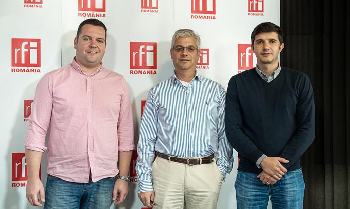 Alex ROŞCA, Radu MUSTĂŢEA şi Mihai CRĂCEA