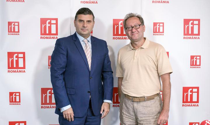 Alexandru Petrescu și Constantin Rudniţchi la RFI