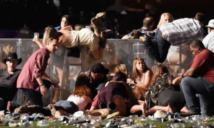 Scene de oroare las Las Vegas