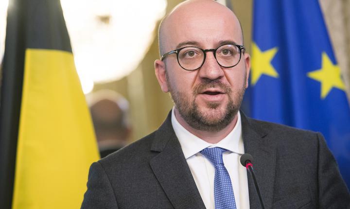 Premierul belgian, Charles Michel (Foto: AFP/Laurie Dieffembacq/BELGA)