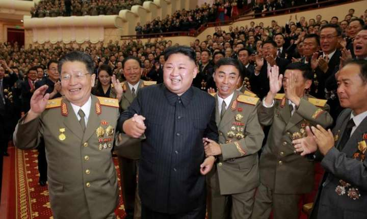Pregăteşte liderul de la Phenian, Kim Jong-un, un nou test nuclear? (Foto: KCNA via Reuters)