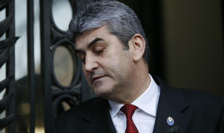 Fostul vicepremier, Gabriel Oprea