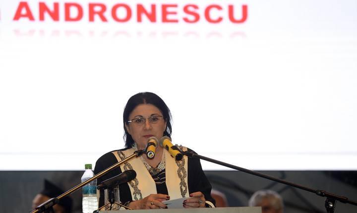 Ecaterina Andronescu revine la Ministerul Educaţiei (Sursa foto: Facebook/Ecaterina Andronescu)