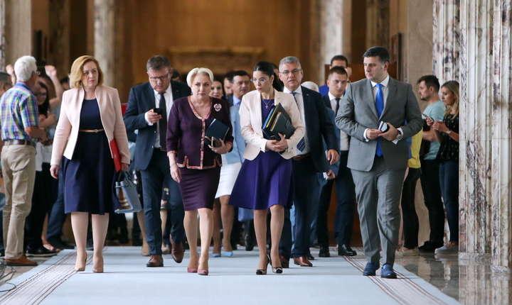 Premierul Viorica Dăncilă pregătește remanierea Guvernului (Sursa foto: gov.ro)